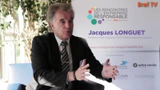 Rencontres RSE: Jacques Longuet, ERDF Rhône-Alpes Bourgogne