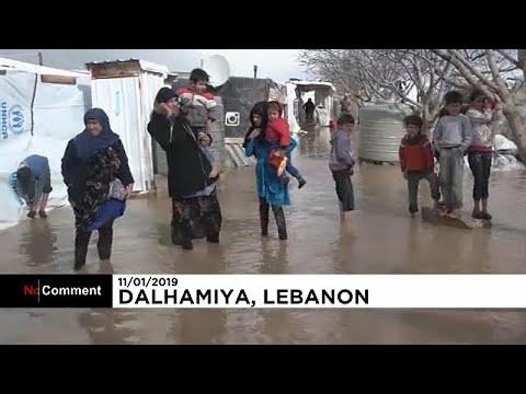 No Comment: Πρόσφυγες στο έλεος της κακοκαιρίας