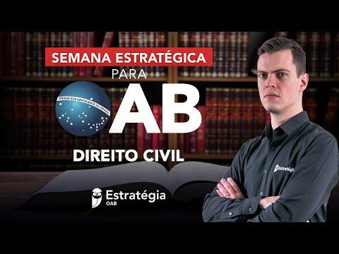Semana Estratégica OAB - Direito Civil