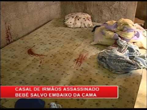 Casal de irmãos é assassinado em Aldeia