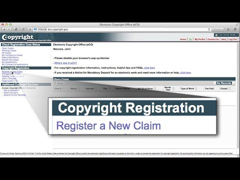 eCO Copyright Registration of Published Images - Step-by-Step