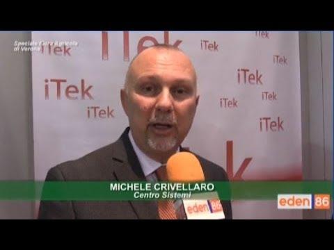 iTek a FierAgricola di Verona: Intervista per Eden86