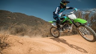 7. 2017 Kawasaki KLX140G | First Impression | TransWorld Motocross
