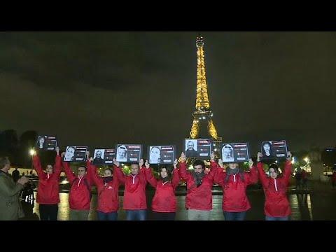 Ακτιβιστές κατά της ατιμωρησίας εγκλημάτων ενάντια σε δημοσιογράφους…