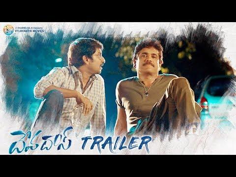 #Devadas Official Trailer   Akkineni Nagarjuna, Nani, Rashmika, Aakansha Singh   Sriram Aditya