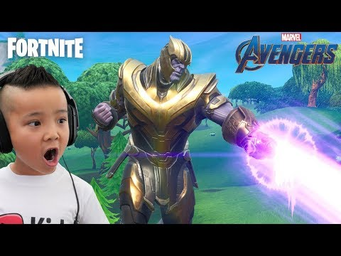 I AM THANOS !!! Fortnite Avengers Endgame Gameplay With CKN Gaming