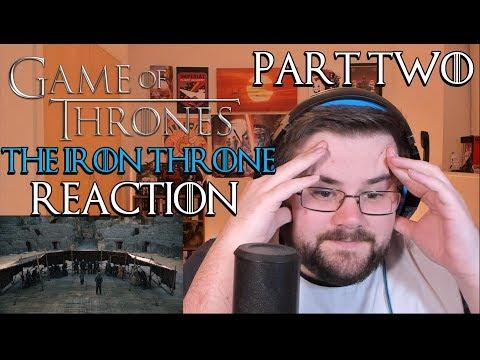 Game of Thrones | Season 8 Episode 6 | The Iron Throne | Reaction (Part 2)