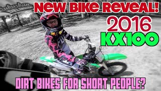 11. 2016 Kawasaki KX100: Best Dirt Bike for Short People