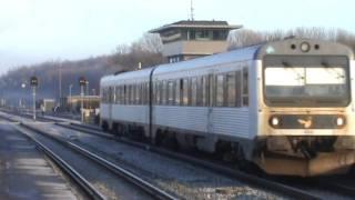 IC3, BR 605, MR og RT LJ IC2 i Nykøbing Falster på årets sidste dag d. 31/12-11. IC3, BR 605, MR and IC2 trains in Nykøbing...
