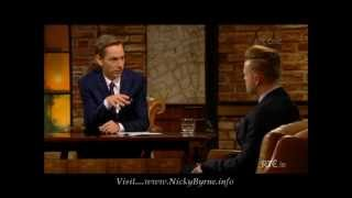 Nicky Byrne on The Late Late Show 09-01-15 pt 1