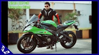 8. 2015 Kawasaki Ninja ZX-10R - An Everyday Bike? City ride and Review | RWR