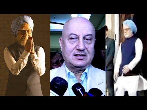 Anupam Kher REACTS On His Dr Manmohan Singh's Wa