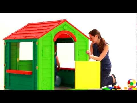 Игровой домик Keter Kids Holiday Playhouse