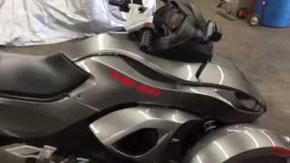 9. 2011 can am spyder manual trans
