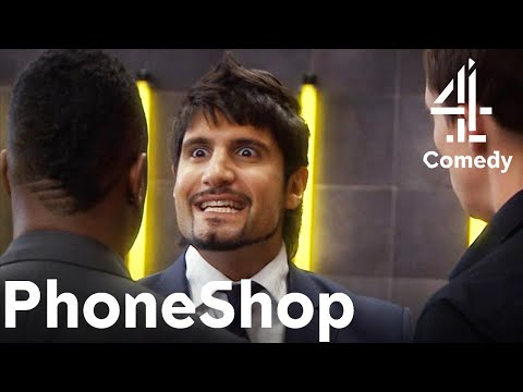Meeting the INTENSE Area Manager for the First Time! | Comedy with Kayvan Novak | PhoneShop
