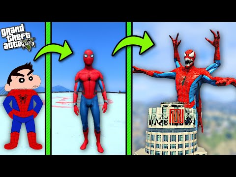 ULTIMATE SPIDERMAN VS SIREN HEAD in GTA 5 | THUGBOI MAX