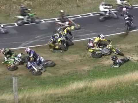 Supermoto Crash + Stunt Movie
