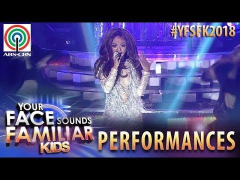Your Face Sounds Familiar Kids 2018: Sheena Belarmino as Jennifer Lopez   On The Floor (видео)