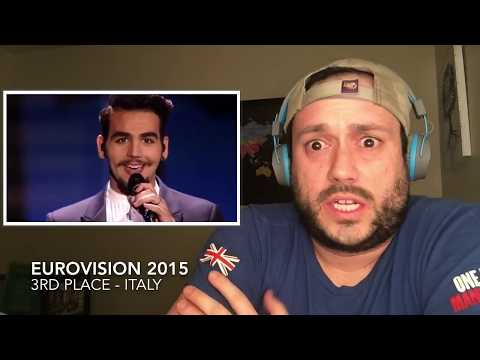 ESC 2015 Reaction Series FINALE - 3rd Place - ITALY