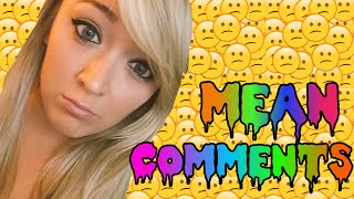 Mean Comments With Meghan McCarthy