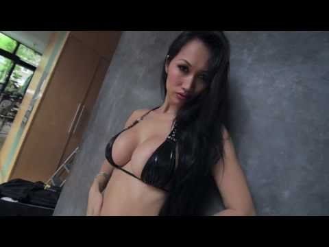 Angie Vu Ha, Asia's Sexiest DJ, playboy model behind the scenes