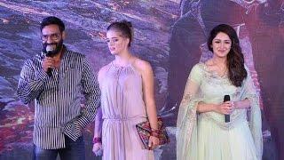 UNCUT Shivaay Trailer Launch | Ajay Devgn, Sayyeshaa