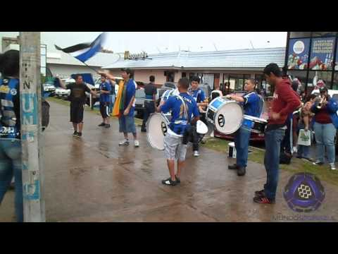 Actividad de La Pandilla Del Sur previo al Mineros vs Atl Venezuela - La Pandilla del Sur - Mineros de Guayana