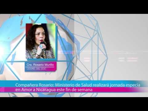 Compañera Rosario: Ministerio de Salud realizará jornada especial en Amor a Nicaragua este fin de semana