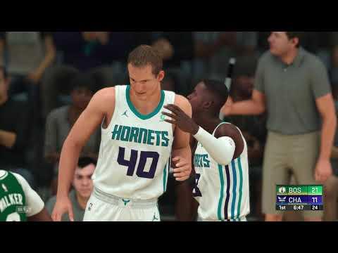 NBA 2K20 - Boston Celtics vs Charlotte Hornets (Kemba Walker returns to Charlotte)