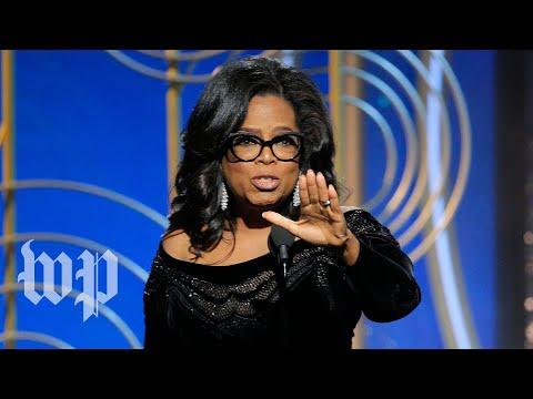 Oprah Winfrey's Golden Globes speech, annotated