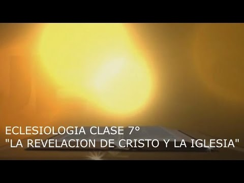 ECLESIOLOGIA CLASE 7°