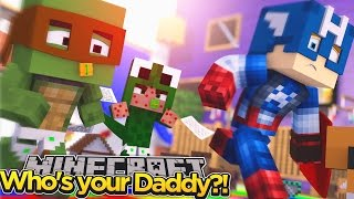 Minecraft Who's Your Daddy - BABY LITTLE LIZARD HAS GOT THE CHICKEN POX!