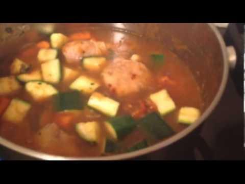 Couscous with merguez chicken savoir vivre for Algerian cuisine youtube