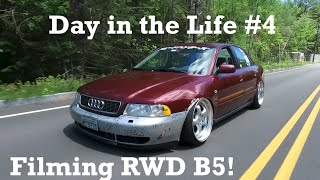 Day in the Life #4: Filming the RWD B5 in New Hampshire! by Ignition Tube