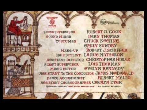 Bedknobs And Broomsticks - Robert Stevenson, 1971 - opening