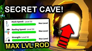 HOW TO OPEN FINAL ISLAND *SECRET* CAVE & MAXED OUT ROD UPGRADES!   Roblox Fishing Simulator