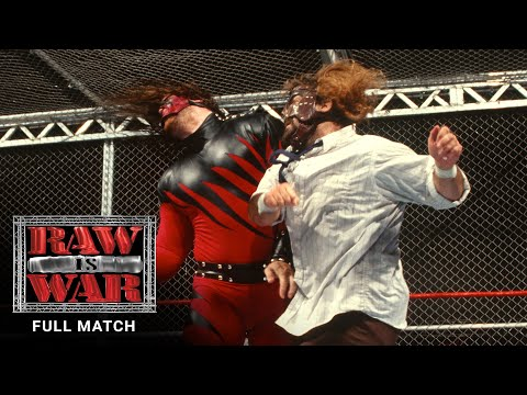 FULL MATCH - Mankind vs. Kane – Hell in a Cell Match: Raw, Aug. 24, 1998
