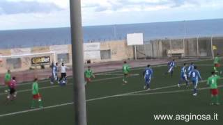 Preview video <strong>POLIMNIA-GINOSA 1-0 Il Ginosa torna a testa alta da Polignano</strong>