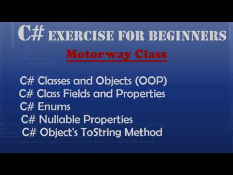 C# OOP Programming for Beginners – Motorway Class (Classes, Enums, Nullable Properties)