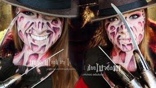 Freddy Krueger Makeup Tutorial (NO LATEX, NO MESS! Drugstore Products)