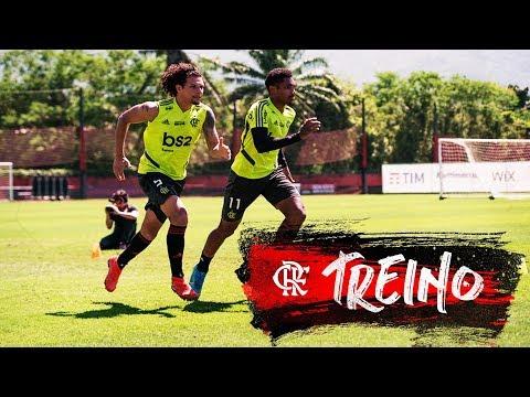 Treino do Flamengo - 12/10/2019