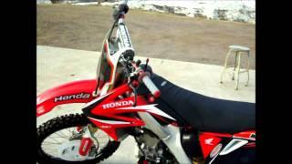 8. 2005 Honda CRF 250R