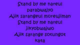 Video Stand By Me with lyrics by SHINee MP3, 3GP, MP4, WEBM, AVI, FLV Januari 2018