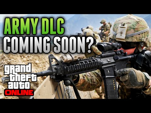 Army - Military DLC Coming To GTA 5 Online? Click the Like Button and support this video! GTA 5 Leaked Heists Info - https://www.youtube.com/watch?v=0XtjGp5XILw Subscribe: http://www.youtube.com/oChaoti...