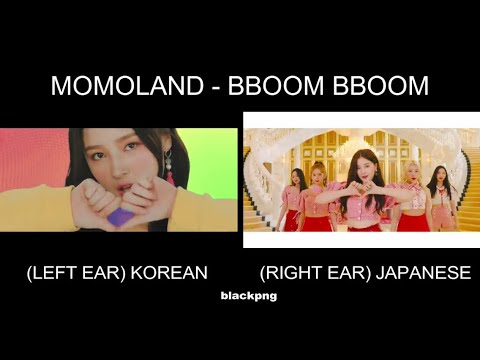 MOMOLAND - BBOOM BBOOM KOREAN X JAPANESE
