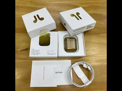 Surprised! Golden airpods 2 pk AirGolds has it arrived?