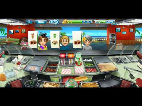 Cooking Fever Day 244 Sandwich Shop