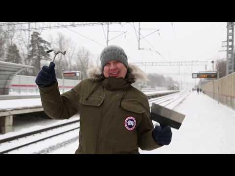 Фёдор Пескоструев разминается перед обзором Строителя - DomaVideo.Ru