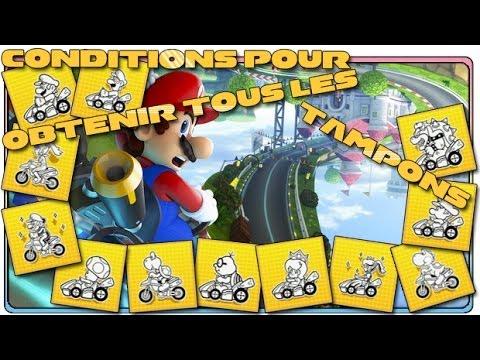Mario Kart 8 - Comment obtenir tous les tampons ? (Wii U)