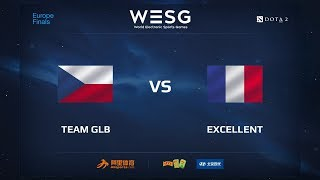 GLB vs Excellent, WESG 2017 Dota 2 European Qualifier Finals